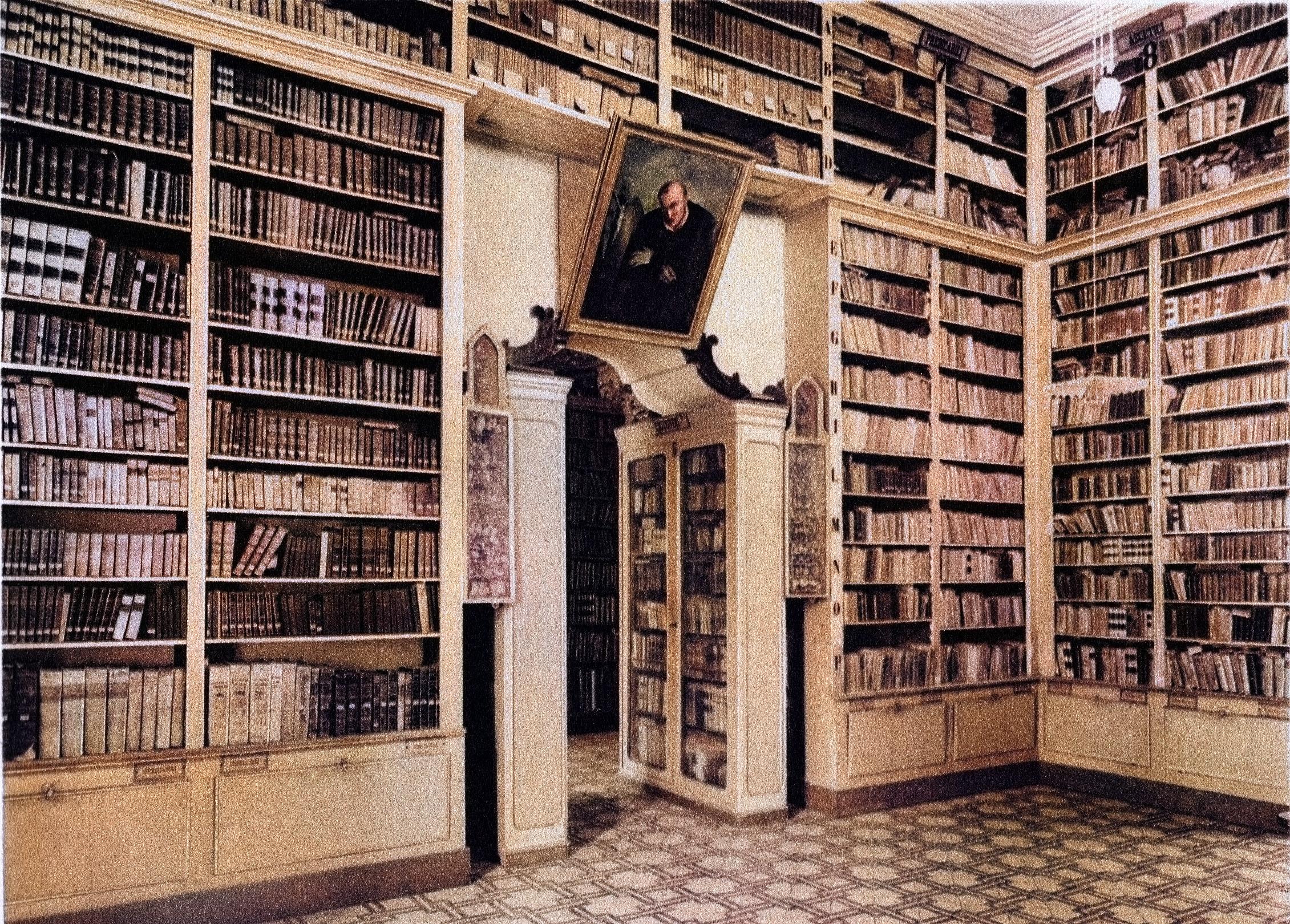 Biblioteca nel 1936